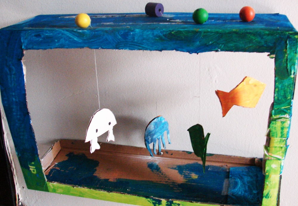 Exceptionnel Aquarium de carton - la fabrique des Marmottons LV28